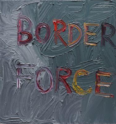 border force_2016_Oil on linen_170x160cm